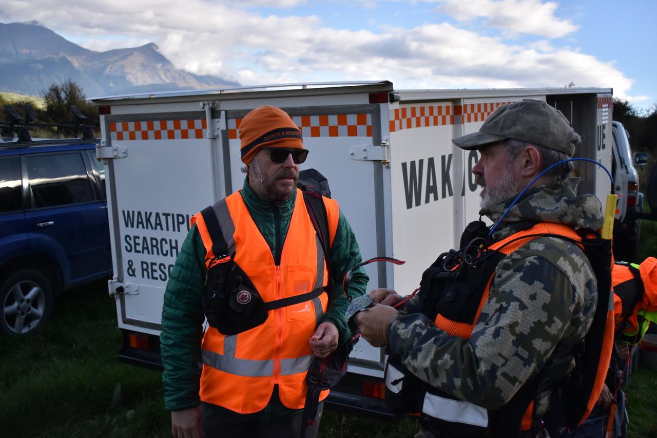 Wakatipu LandSAR members